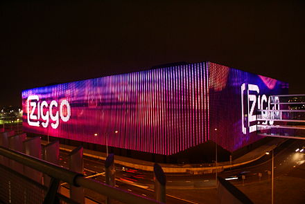Ziggo Dome indoor arena in Amsterdam