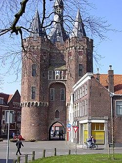 De Sassenpoort te Zwolle