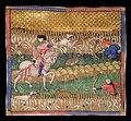 """""""Comment on peut tirer les lièvres"""" (Livre de chasse, Musée national du Moyen Âge) (6775757489).jpg"""