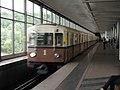 """Sokolniki"" retro train at Vorobyovy Gory station (Ретропоезд ""Сокольники"" на станции Воробьёвы Горы) (4685746985).jpg"