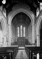 The chancel, Knighton church