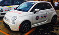 """ 15 - EXPO MILANO 2015 - Fiat 500e white next generation of battery-powered automobiles.jpg"