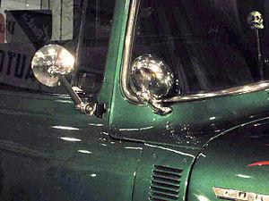 Appleton spotlight - Appleton spotlight on a 1956 Ford