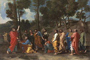 Seven Sacraments (Poussin) - Ordination from the first series