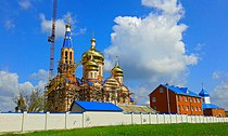(01) WIKIPEDIA NEW ORTHODOX CATHEDRAL AT BRAILOV MONASTERY IN TOWN OF BAR VINNYTSIA REGION STATE OF UKRAINE 20150503.jpg