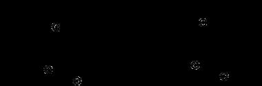 Strukturformeln von cis,trans-Pulvinon