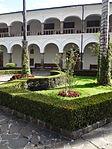 (Iglesia de San Francisco, Quito) Convento pic.ab11 interior courtyard.JPG