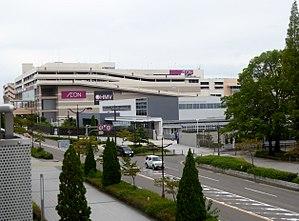 Nagoya Dome - Image: ÆON MALL Nagoya Dome mae