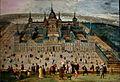 École Flamande, Vue de l'Escorial (17e siècle), Grand Curtius, Liège.JPG