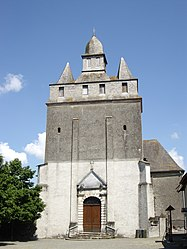 The church of Saint-Barthélémy