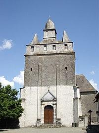 Église Saint-Barthélémy d'Andrest (Hautes-Pyrénées, France).JPG