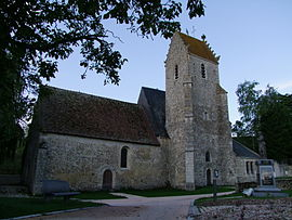 The church of Saint-Germain-de-Paris, in Sceaux-sur-Huisne