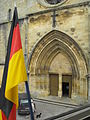 Église Saint-Pierre de Gourdon (French-German friendship).jpg
