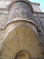 Église Saint-Sulpice - Chapelle de la Vierge - Niche en encorbellement sur trompe.JPG