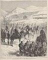 Événements d'Espagne, le roi Alphonse XII passant en revue l'armée du Nord, échelonnée sur la route de Tolosa à Sain-Sébastien, de Lix.jpg