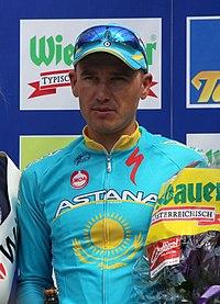 Österreich-Rundfahrt 2013 Wien Siegerehrung Alexander Djatschenko.jpg