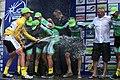 Österreich-Rundfahrt 2013 Wien Siegerehrung Riccardo Zoidl und Team 03.jpg