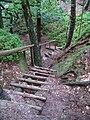 Čap, schody na zelené.jpg