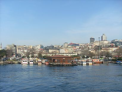 How to get to Kasımpaşa with public transit - About the place