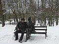 Ławeczka Bolesława Prusa w Nałęczowie.JPG