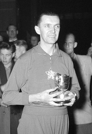 Žarko Dolinar - Žarko Dolinar at the 1955 World Championships