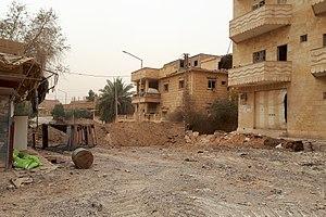 Abu Kamal - Abu Kamal, destroyed buildings (November 19, 2017)