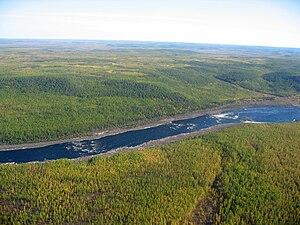 Vilyuy River - Image: Вилюйские пороги
