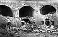 Восточный форт,вид на казематы внутренней подковы после боёв 1941 год.jpg