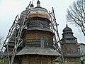Дрогобич .Церква святого Юра.Храм та дзвіниця.JPG