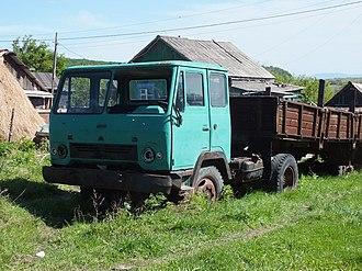 Kutaisi Auto Mechanical Plant - KAZ-608V Kolkhida
