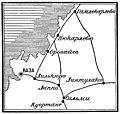 Карта к статье «Оровайс» № 1. Военная энциклопедия Сытина (Санкт-Петербург, 1911-1915).jpg