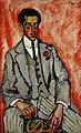 Машков И. И., Портрет неизвестного с цветком в петлице. 1910г.jpg
