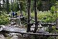 Навесная переправа через Нижнюю Тайжасу (22.08.2011) - panoramio.jpg