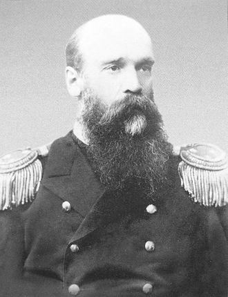 Russian battleship Borodino - Petr Serebrennikov, captain of the Borodino