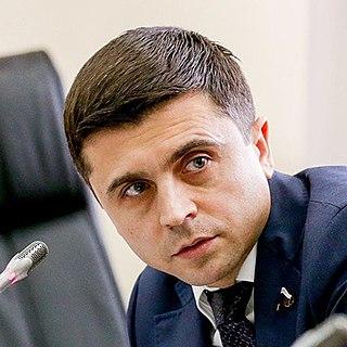 Ruslan Balbek Russian politician, Member of the State Duma of Russia
