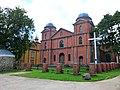 Старый и новый католический костёл, Карсава - panoramio.jpg