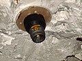 Что этот датчик замерял - Датчик на потолке склада - Интерестная эмблема на нём - panoramio.jpg