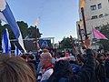 הפגנת מחאה מול הווילון השחור בבכניסה לבית ראש הממשלה בבלפור שבת אחר הצהריים 26 בדצמבר 2020 (1).jpg