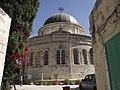 מבט מקיף על מתחם הכנסיה האתיופית.JPG