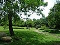 夏天的生物学院楼下小花园 - panoramio.jpg