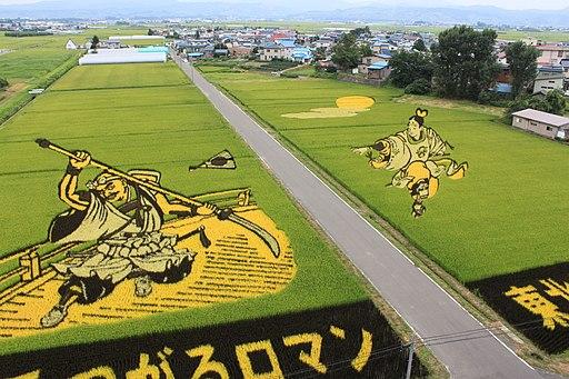 田舎館田んぼのアート - panoramio (2)