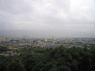 Mangshi County-level city in Yunnan, Peoples Republic of China