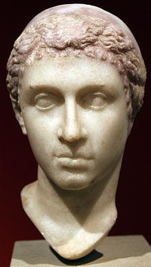 Buste «supposé» de Cléopâtre VII, Altes Museum, Berlin.