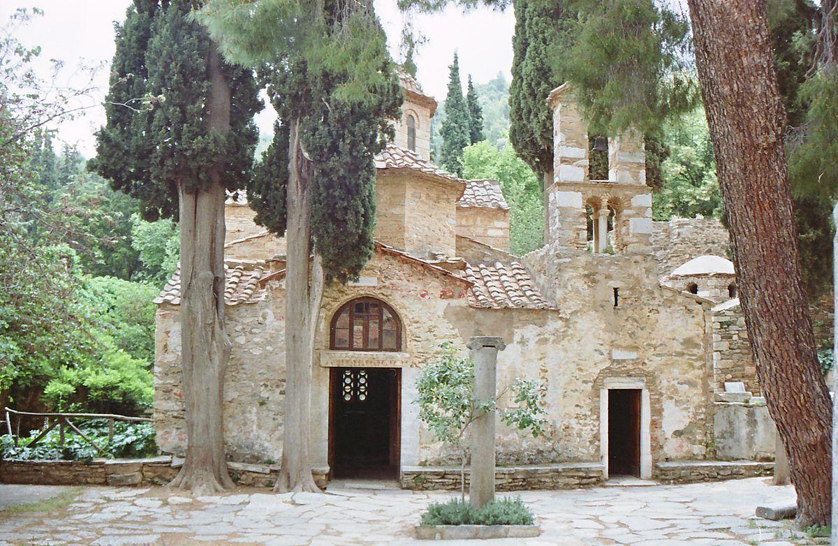 Αποτέλεσμα εικόνας για αναληψη εκκλησια καισαριανη