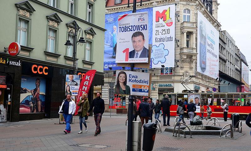 File:02015 0148 Wahlkampfplakate in Kattowitz.JPG