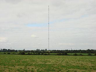 Clarkstown radio transmitter - Image: 03 Clarkestown mast 2007 09 06