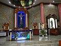 0301jfChurch San Isidro Holy Cross Halls Roads Caloocan Cityfvf 07.JPG