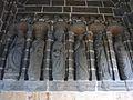 032 Daoulas Intérieur du porche d'entrée de l'enclos paroissial Les six autres apôtres.jpg