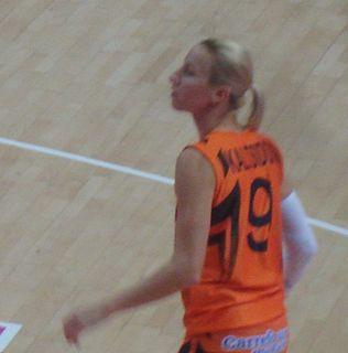 Styliani Kaltsidou Greek basketball player