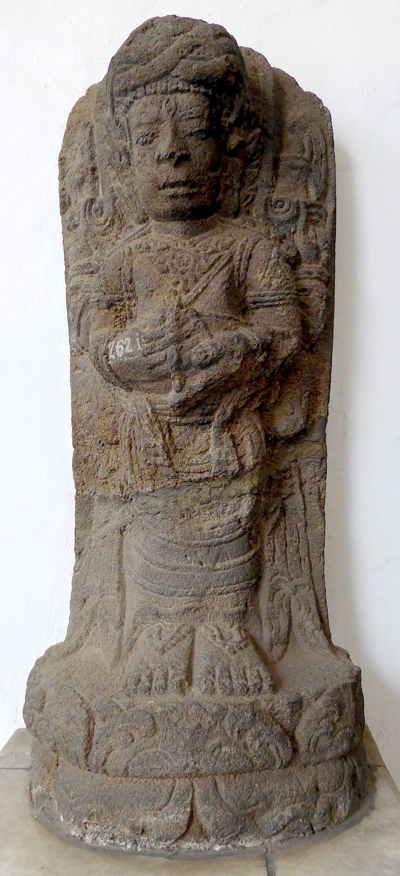073 Siva Mahaguru Agastya, Kediri, East Java, 12-13th c (23407506591).jpg